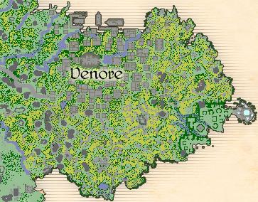 Map Venore