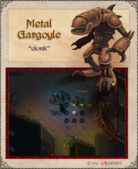 Metal Gargoyle Artwork