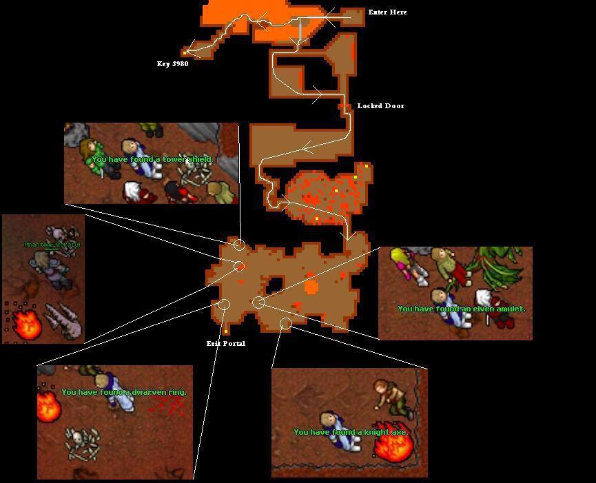 Deeper Fibula Quest Map New