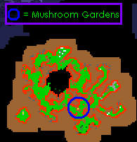 Bigfoot's Burden Quest Mushroom Gardens Location