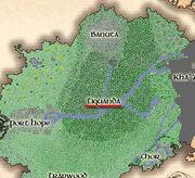 Mapa Tiquanda