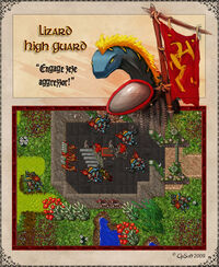 Lizard High Guard Artwork