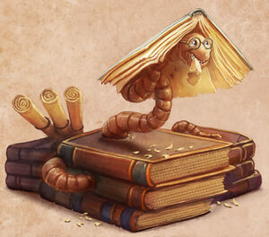 Bookworm Artwork