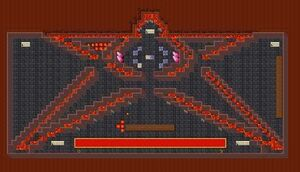 Demona pentagram room