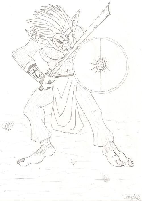 Troll Swordsman by Mastho5