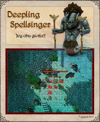 Deepling Spellsinger Artwork