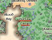 Mapa Outlaw Camp
