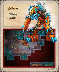 Damaged Worker Golem Artwork