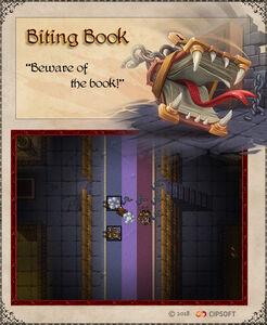 Biting Book Artwork