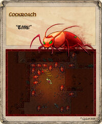 Cockroach Artwork
