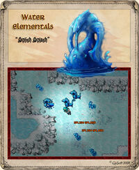 Massive Water Elemental Artwork