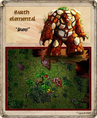 Massive Earth Elemental Artwork
