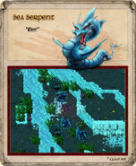 Sea Serpent Artwork