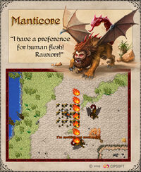 Manticore Artwork