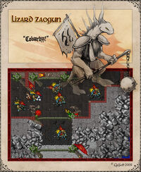 Lizard Zaogun Artwork