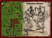 Barbarian Outfits Artwork