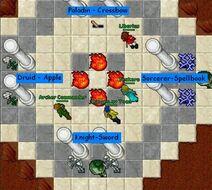 Desert quest room