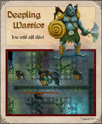 Deepling Warrior Artwork