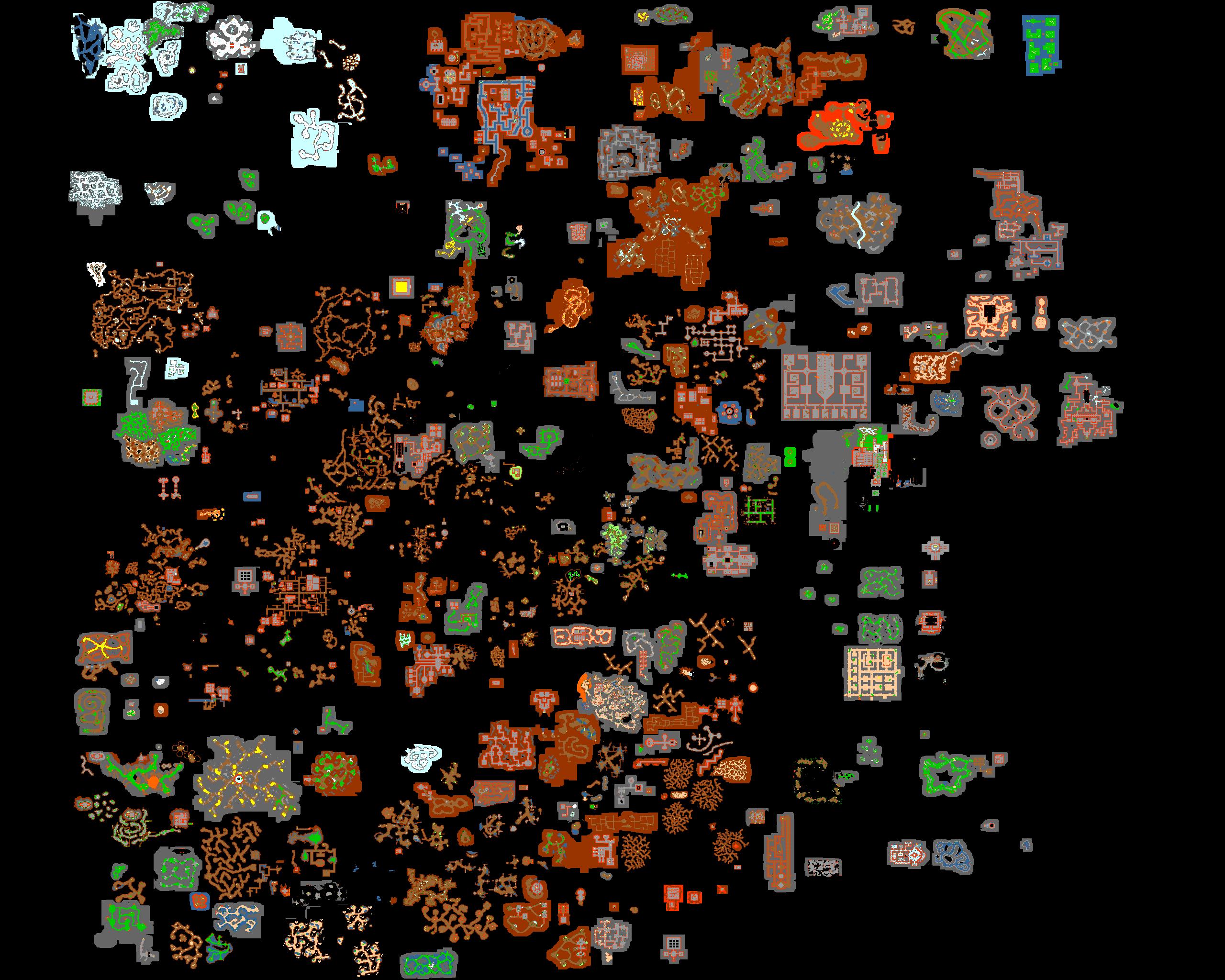 Minimap Floor 8