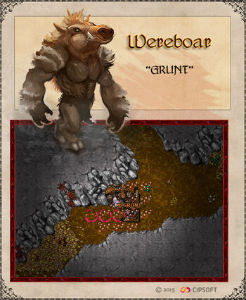 Wereboar Artwork