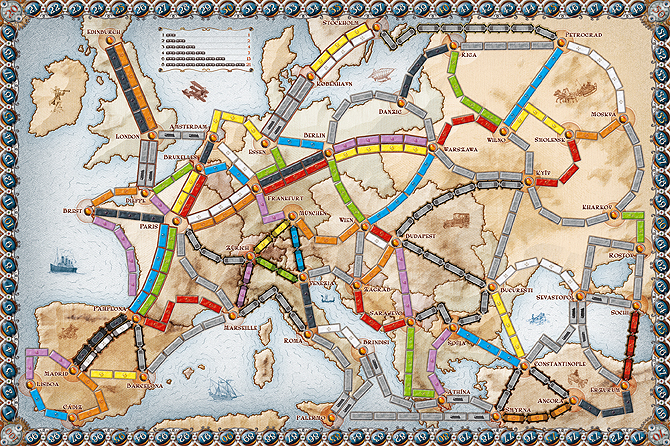 Ticket to Ride   Europe | Ticket to Ride Wikia | FANDOM powered by