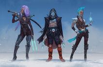 Numenera Characters