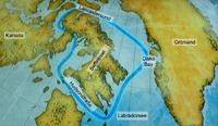 Reise der Kanada Population