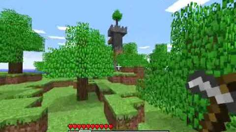 Minecraft Indev Gameplay