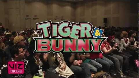 TIGER & BUNNY at New York Comic Con 2012