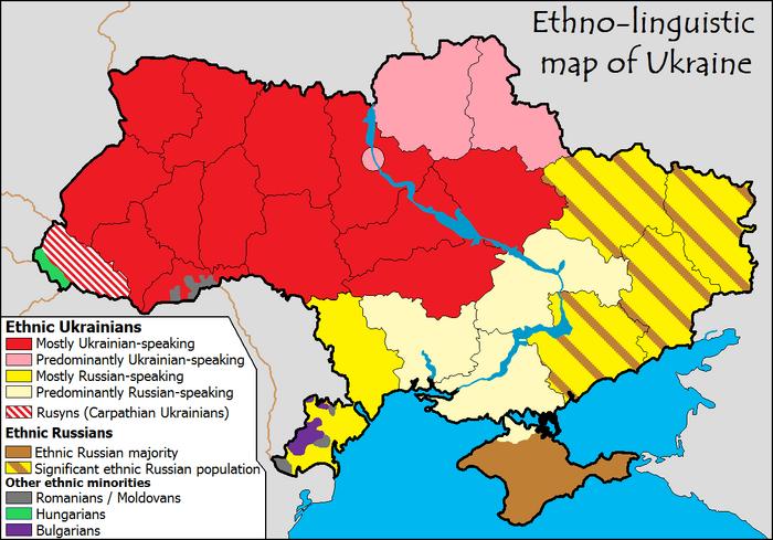 Ethnolingusitic map of ukraine-1-