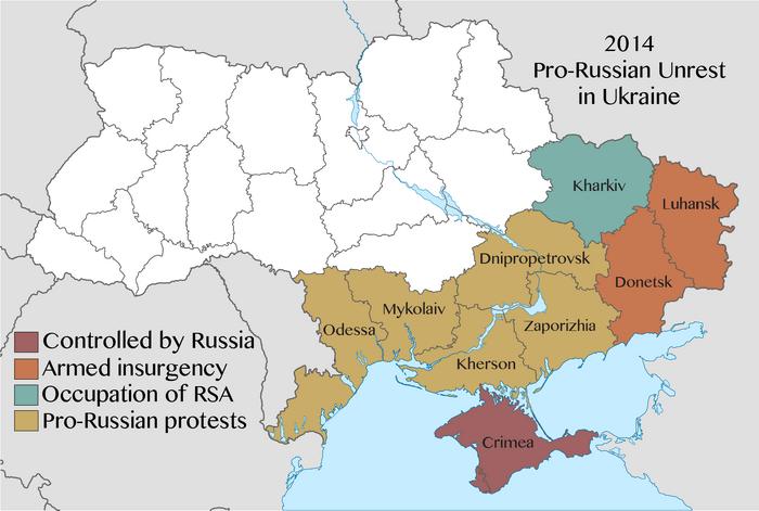 2014 pro-Russian unrest in Ukraine-6-