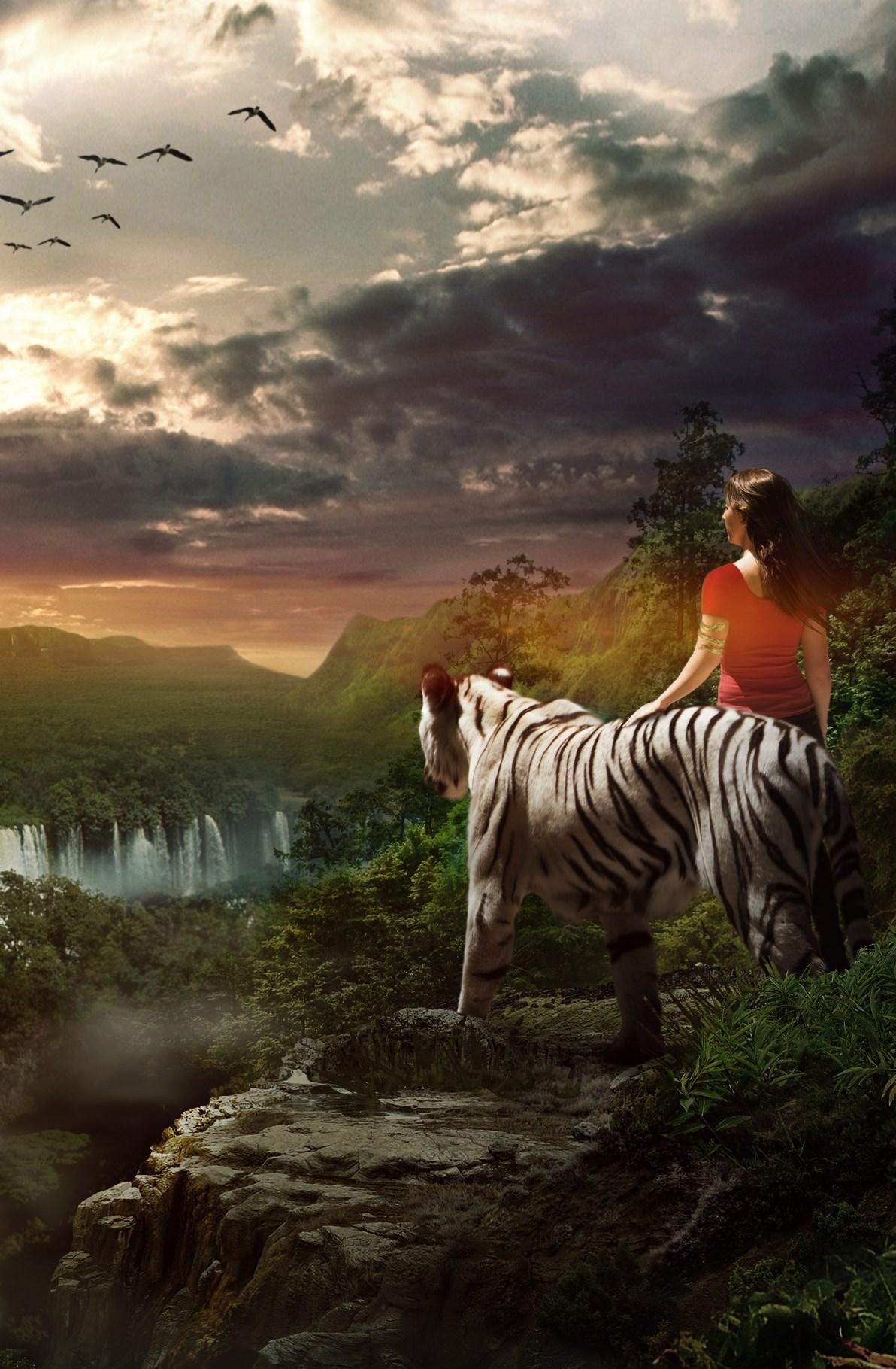Destiny Tiger Man Concept Art