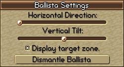 Ballista Sliders