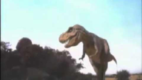 ILM's CGI T-Rex Test for Steven Spielberg's Jurassic Park (1993)
