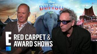 Michael Keaton & Tim Burton Talk Reuniting After 20 Years E! Red Carpet & Award Shows