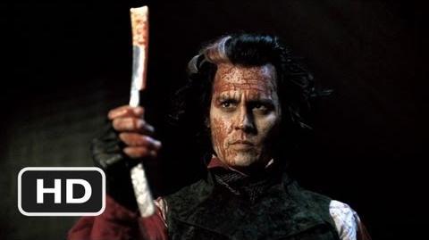 Sweeney Todd (8 8) Movie CLIP - Bloody Vengeance (2007) HD