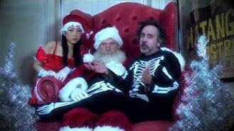 Tim Burton's Greeting - 20th Anniversary of The Nightmare Before Christmas