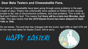 2019 Easter Event Time Fall Studios Wiki Fandom