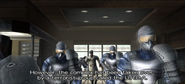Normal class soldiers with Derrick Lynch (PS2 version)