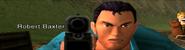 Robert Baxter in PS2 attract mode