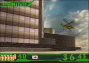 Crisis Zone gyro helicopters (Arcade version)