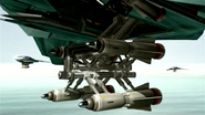 XA-60-Ex extending weapon bays