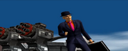 Jakov Kinisky before escaping in an armed cruiser (PS2 version)