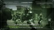 Bravo team under attack