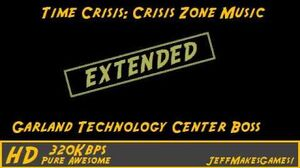 Time Crisis Crisis Zone Music - Garland Technology Center Boss