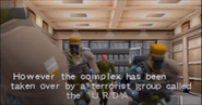 Normal class soldiers with Derrick Lynch (Arcade version)