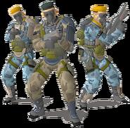 Crisis Zone arcade normal enemies