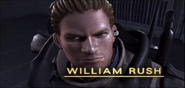 William Rush in PS3 attract mode
