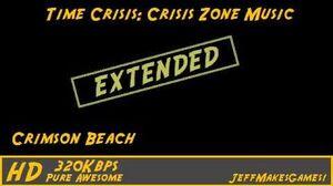 Time Crisis Crisis Zone Music - Crimson Beach