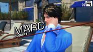 Marc Godart in-game
